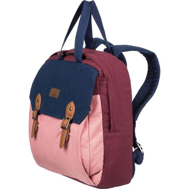 ロキシー メンズ バックパック・リュックサック バッグ Iconic Stop Colorblock Backpack Oxblood Red