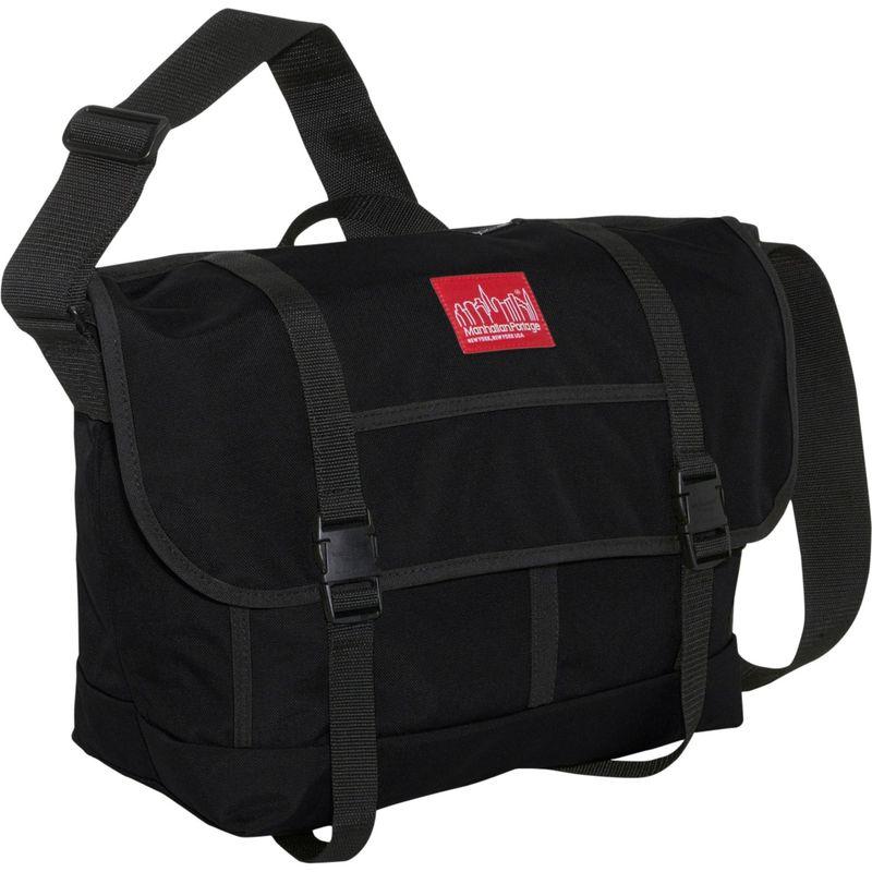 マンハッタンポーテージ メンズ ショルダーバッグ バッグ New York Messenger Bag (Large) Black