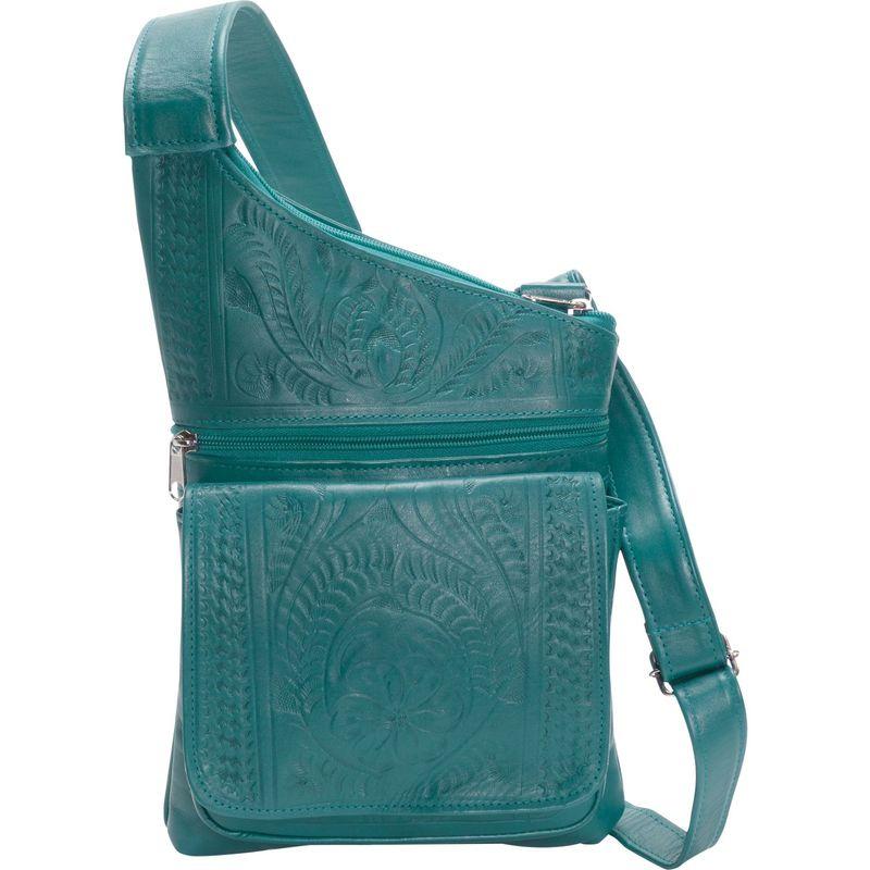 ロピンウェスト メンズ ボディバッグ・ウエストポーチ バッグ Crossover Sling Turquoise