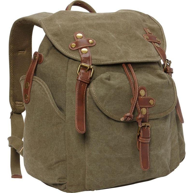 サンアンドサンド メンズ バックパック・リュックサック バッグ Coleman Backpack Military Green