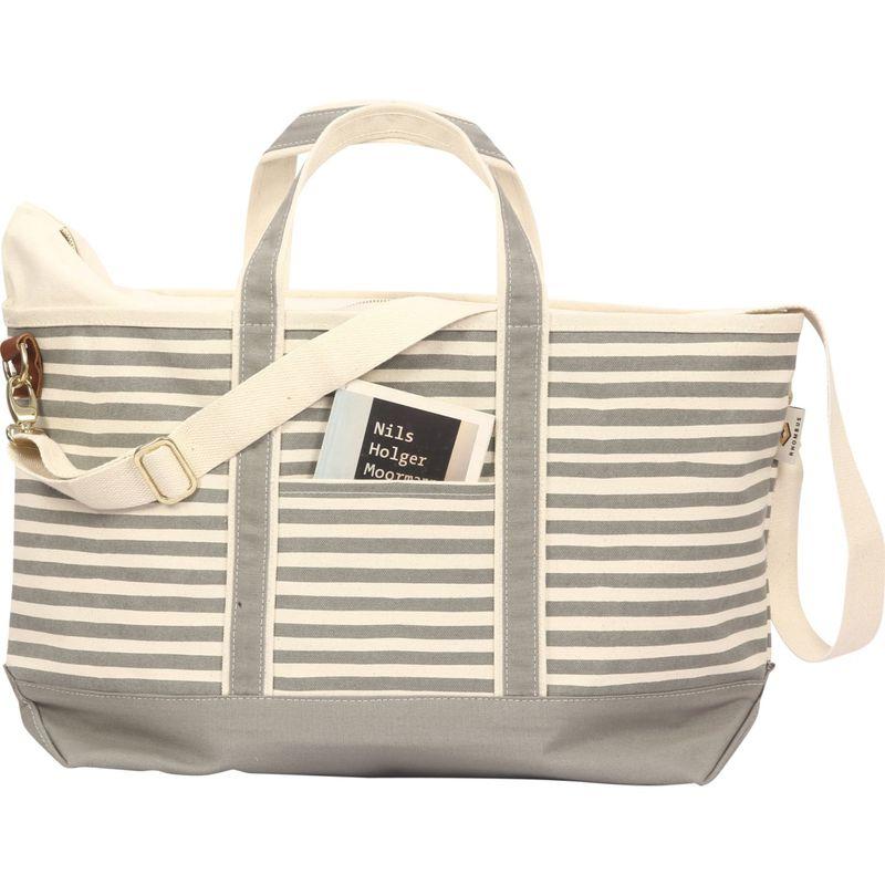 ロンバスキャンバス メンズ スーツケース バッグ Boat Weekender Karma Stripe Grey