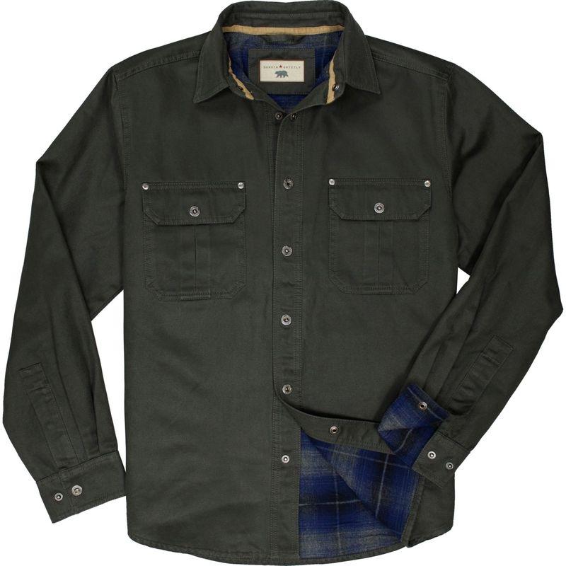 ダコタグリズリー メンズ シャツ トップス Mens Dalton Shirt Jacket Tarmac