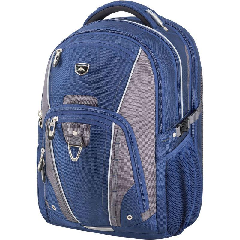 ハイシエラ メンズ スーツケース バッグ Vuna TSA Business Backpack True Navy/Mercury