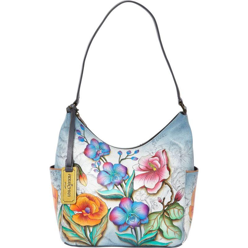 アヌシュカ メンズ ハンドバッグ バッグ Hobo with Side Pockets Floral Fantasy