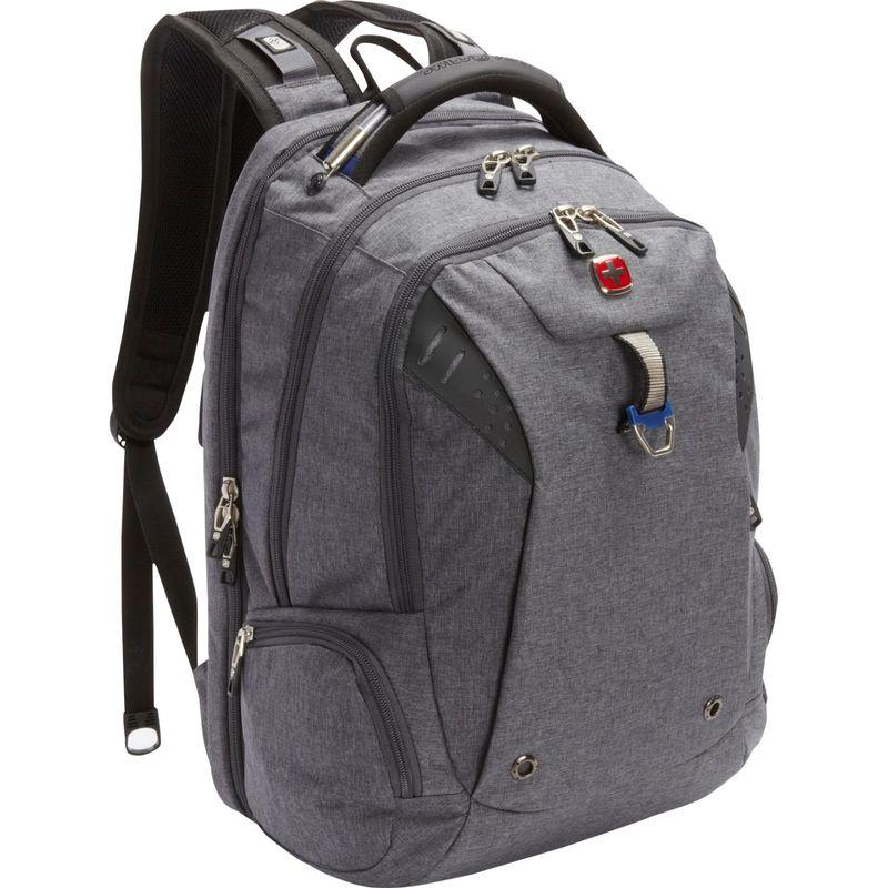 スイスギアトラベルギア メンズ バックパック・リュックサック バッグ Scansmart Backpack 5902 - EXCLUSIVE Heather Grey/Navy