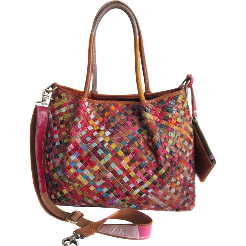 アメリ メンズ トートバッグ バッグ Linwood Leather Tote Bag Rainbow