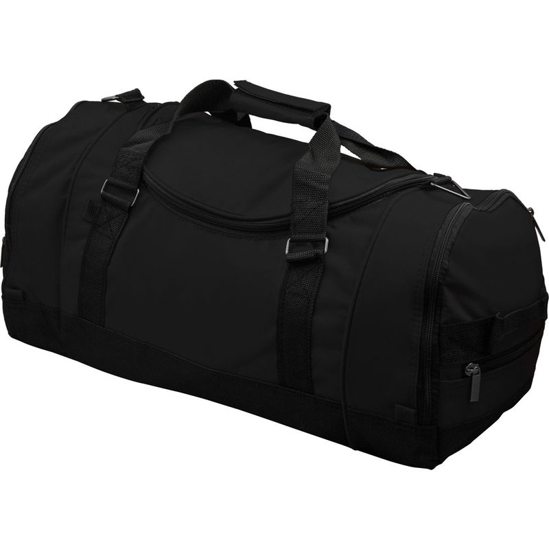 キャシーズ コンセプツ メンズ ボストンバッグ バッグ Personalized Deluxe Sports Duffle Bag Black Plain