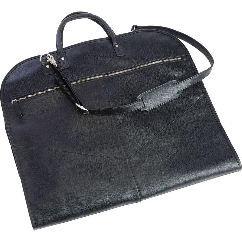 ロイスレザー メンズ スーツケース バッグ Executive Garment Bag Handcrafted Black