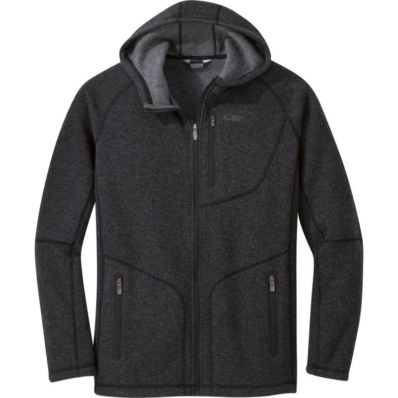 アウトドアリサーチ メンズ ニット・セーター アウター Men's Vashon Fleece Full-Zip Charcoal Heather
