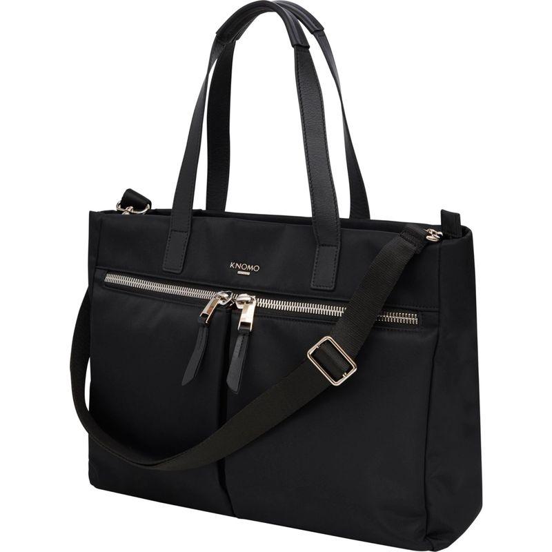 クノモ メンズ スーツケース バッグ Blenheim Laptop Tote Black