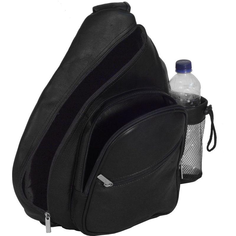デビッドキング メンズ ショルダーバッグ バッグ Backpack Style Cross Body Bag Black