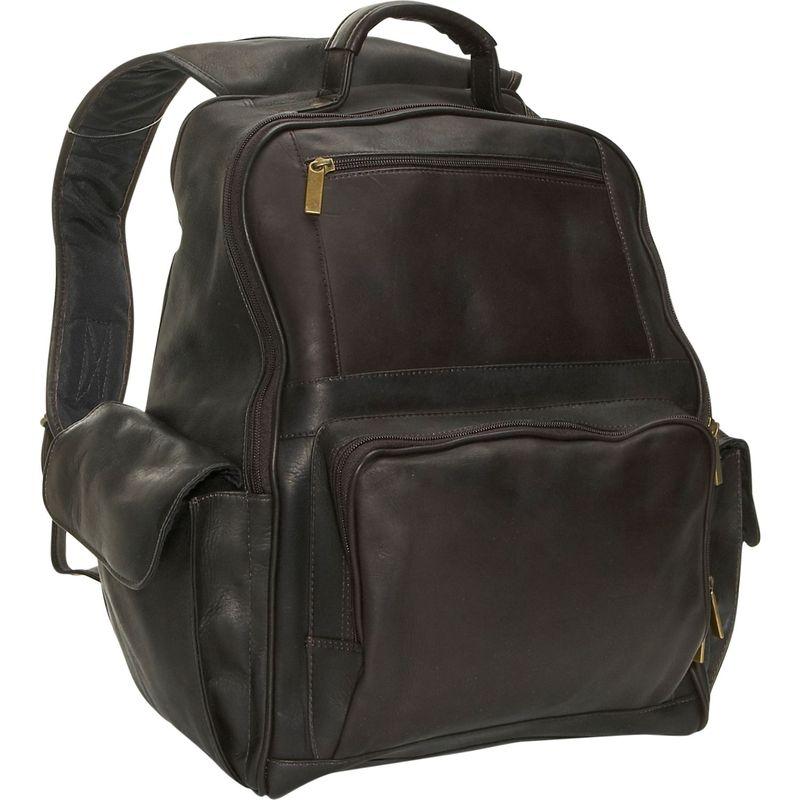 デビッドキング メンズ スーツケース バッグ Large Computer Backpack Cafe