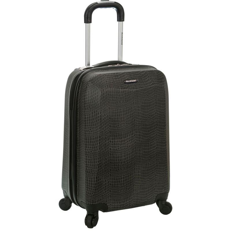 ロックランド メンズ スーツケース バッグ 20 Vision Polycarbonate Carry-On CROCODILE