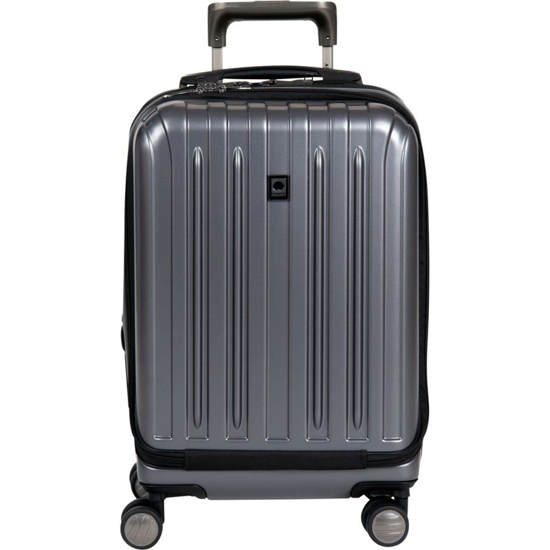 デルシー メンズ スーツケース バッグ Helium Titanium International Carry-On Spinner Trolley Graphite