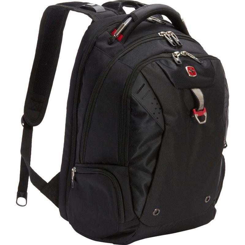 スイスギアトラベルギア メンズ バックパック・リュックサック バッグ Scansmart Backpack 5902 - EXCLUSIVE Black / Red