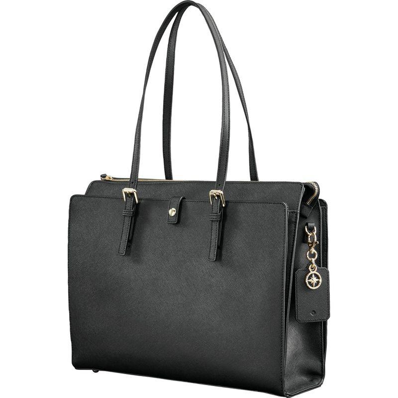 サムソナイト メンズ スーツケース バッグ Ladies Leather N/S Tote Black