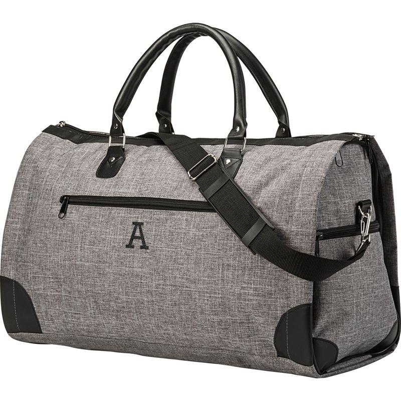 キャシーズ コンセプツ メンズ スーツケース バッグ Monogram Convertible Garment/Duffel Bag Grey - A
