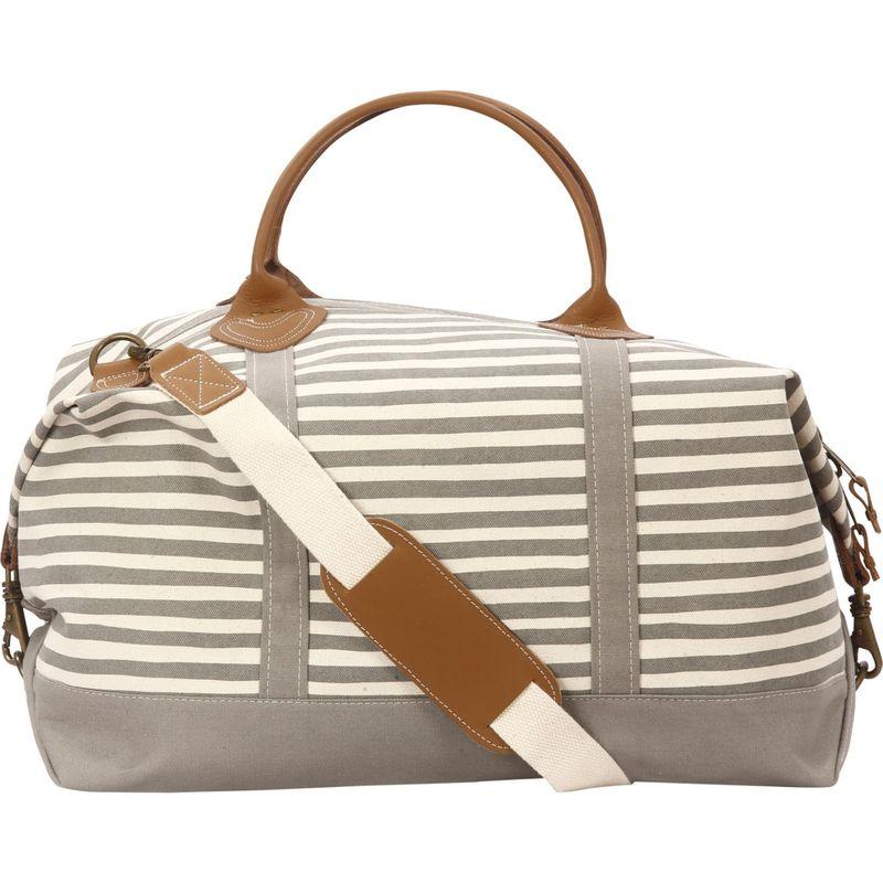 ロンバスキャンバス メンズ スーツケース バッグ Signature Duffle Karma Stripe Grey