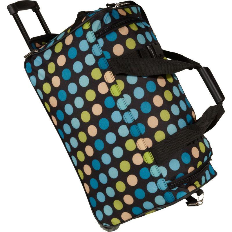 ロックランド メンズ スーツケース バッグ 22 Rolling Duffle Bag Blue