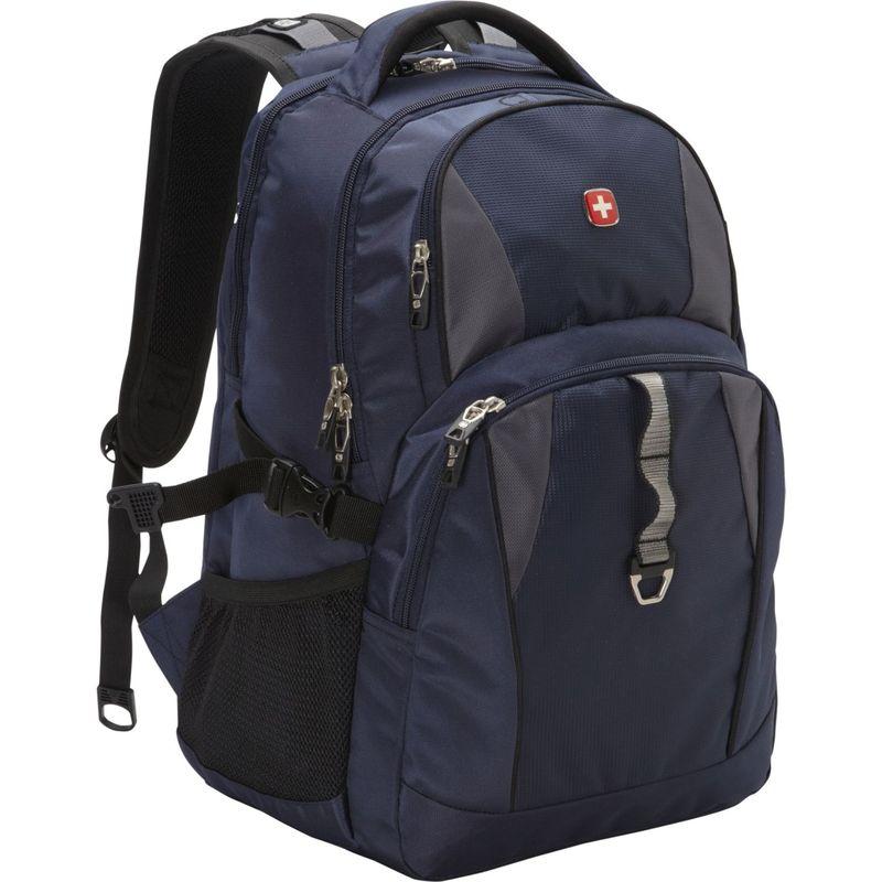 スイスギアトラベルギア メンズ スーツケース バッグ 18.5 Laptop Backpack 6681 - EXCLUSIVE Navy / Grey / Black