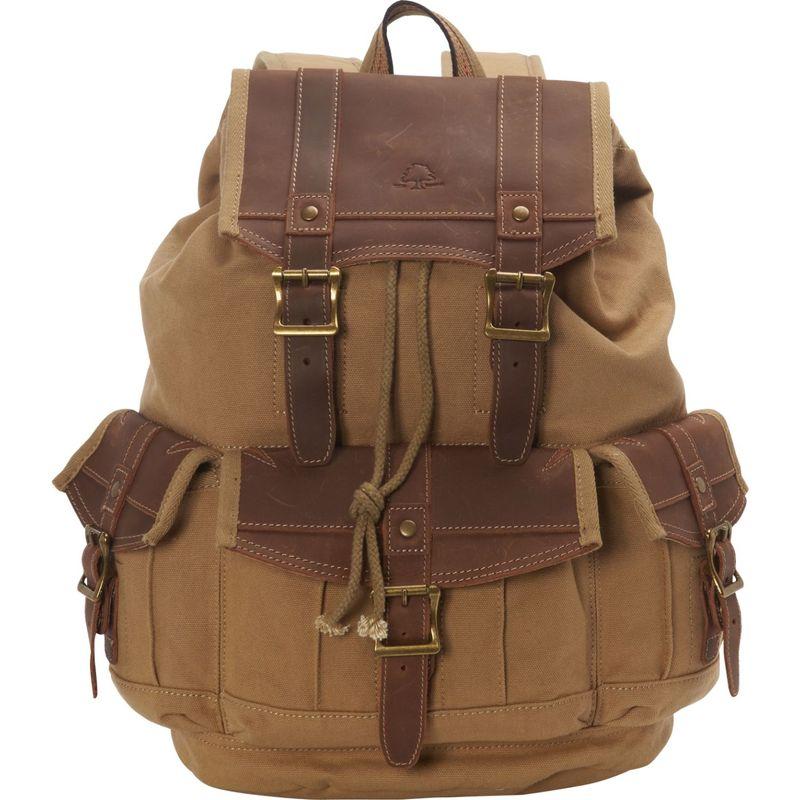 ティエスディー メンズ バックパック・リュックサック バッグ Turtle Ridge Backpack Camel