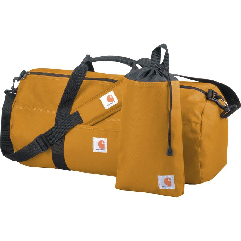 カーハート メンズ スーツケース バッグ Trade Series Medium Duffel + Utility Pouch Carhartt Brown