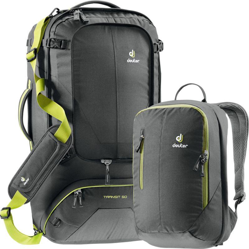 ドイター メンズ バックパック・リュックサック バッグ Transit 50 Backpack Anthracite/Moss