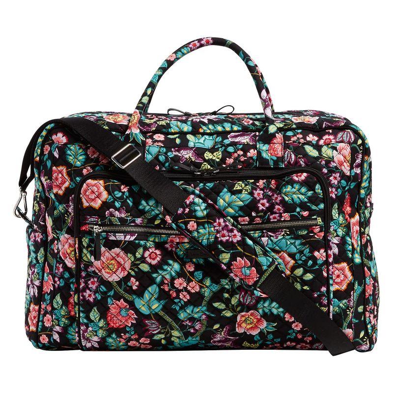 ベラブラッドリー メンズ スーツケース バッグ Iconic Grand Weekender Travel Bag Vines Floral
