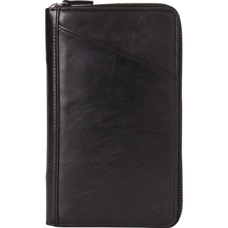 サムソナイト メンズ 財布 アクセサリー 1910 Leather Travel Wallet Black