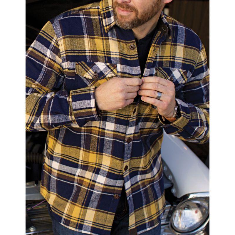 2c940c707dc39 York Mens トップス シャツ メンズ ダコタグリズリー Shirt Steel Jacket ...