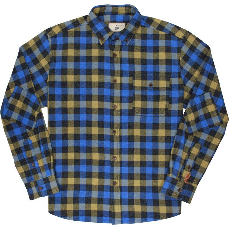 ダコタグリズリー メンズ シャツ トップス Mens Atkins Button Up Shirt Arctic