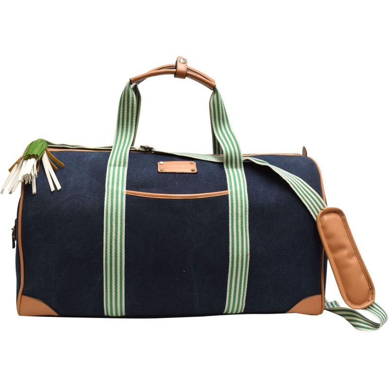 アドリアンヌヴィッタディーニ メンズ スーツケース バッグ 22 Canvas Duffel Denim Blue