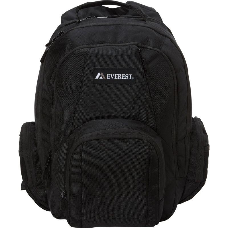 エバーレスト メンズ スーツケース バッグ Transport Laptop Backpack Black