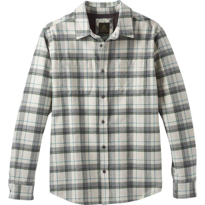 プラーナ メンズ シャツ トップス Brayden Long Sleeve Flannel Winter