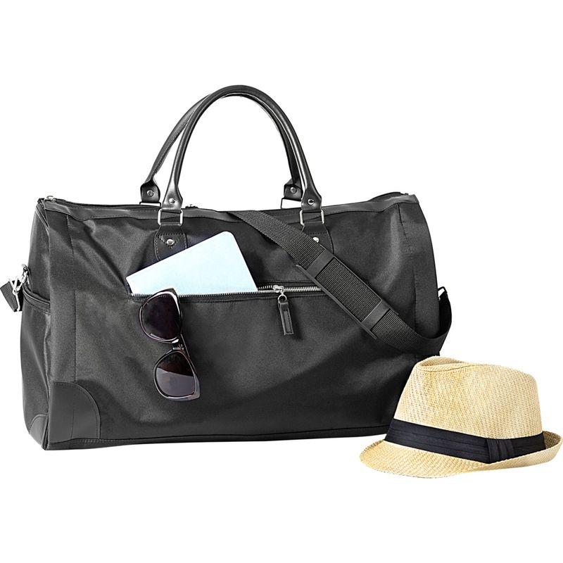 キャシーズ コンセプツ メンズ スーツケース バッグ Monogram Garmet/Duffel Bag Black Plain