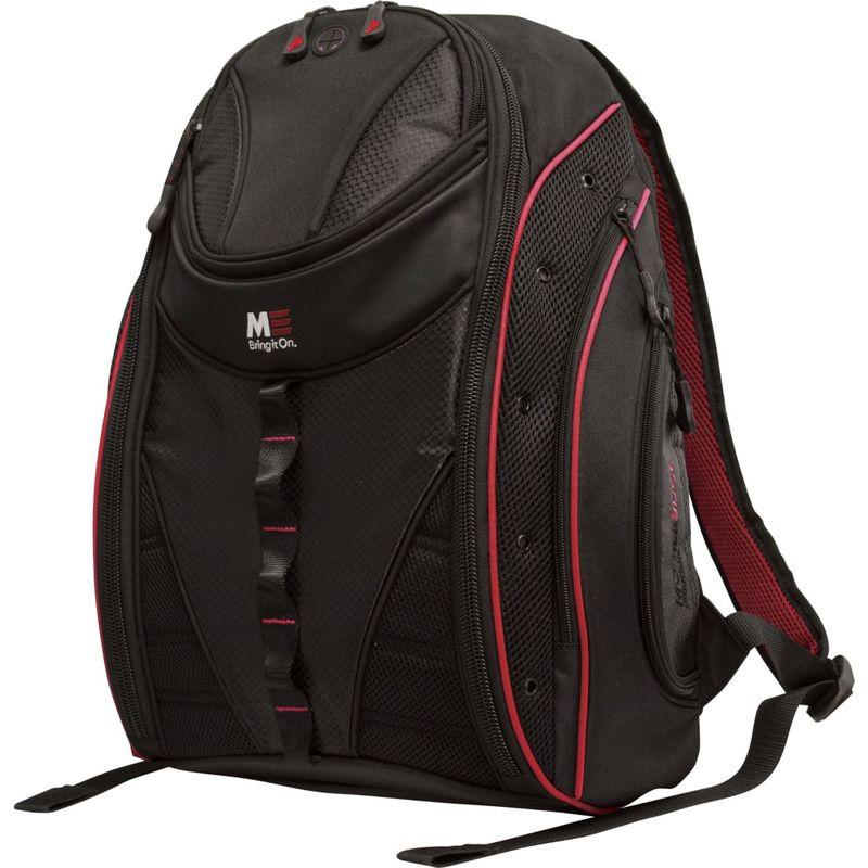 モバイルエッジ メンズ スーツケース バッグ Express Backpack 2.0 - 16/17 Macbook Black/Red