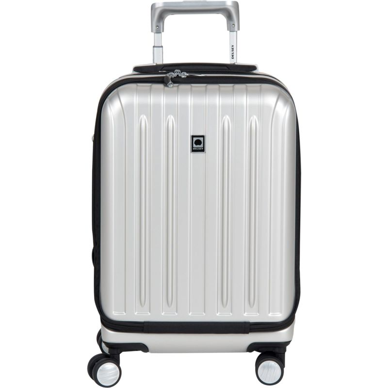 デルシー メンズ スーツケース バッグ Helium Titanium International Carry-On Spinner Trolley Silver