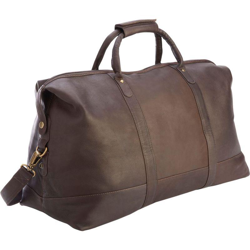 ロイスレザー メンズ スーツケース バッグ Luxury Colombian Leather Duffel Bag Cafe