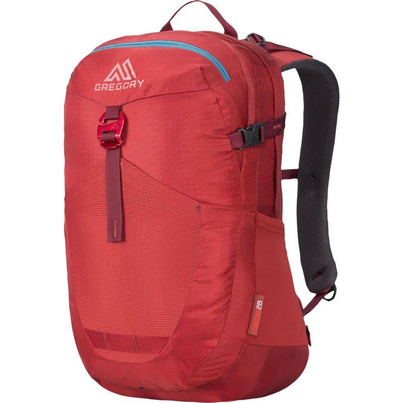 グレゴリー メンズ バックパック・リュックサック バッグ Sucia 28 Backpack Crimson Red