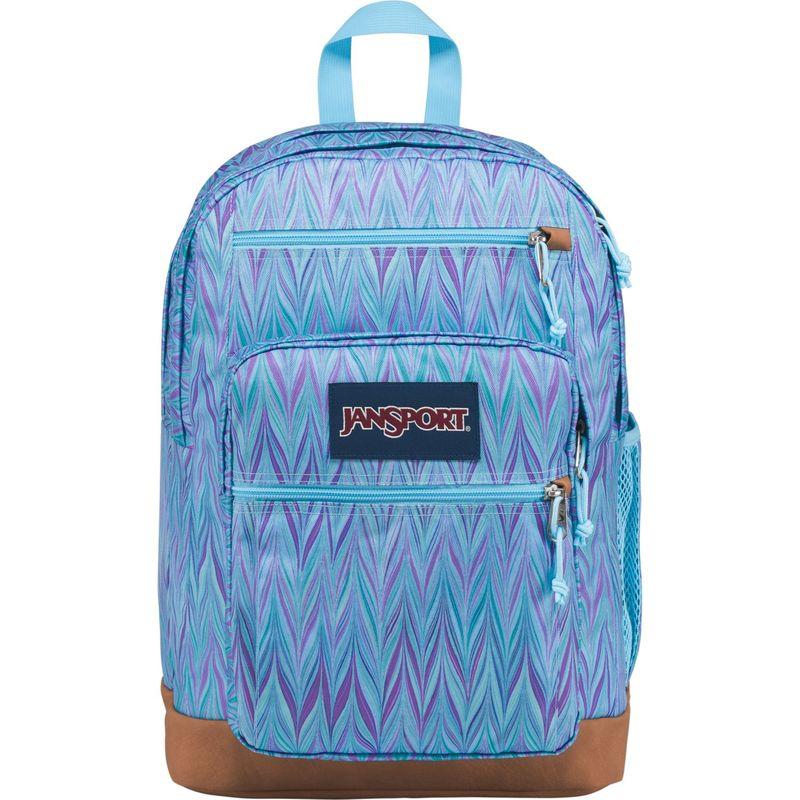 ジャンスポーツ メンズ バックパック・リュックサック バッグ Cool Student Backpack Blue Marble Chevron