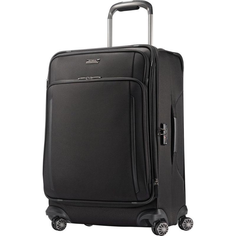 サムソナイト メンズ スーツケース バッグ Silhouette XV Softside Spinner 25 Black