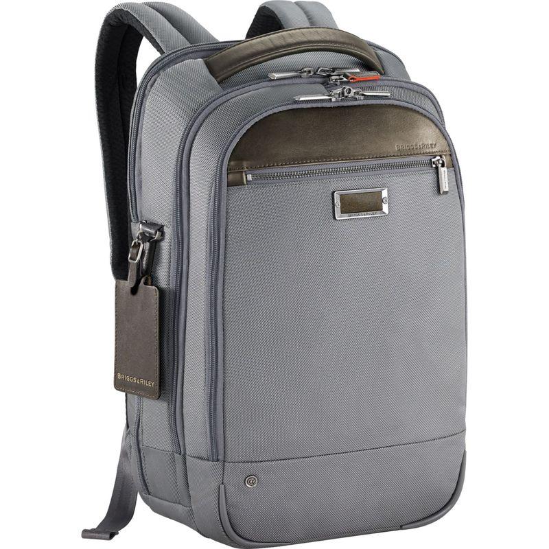 ブリグスアンドライリー メンズ スーツケース バッグ @work Medium Backpack Grey