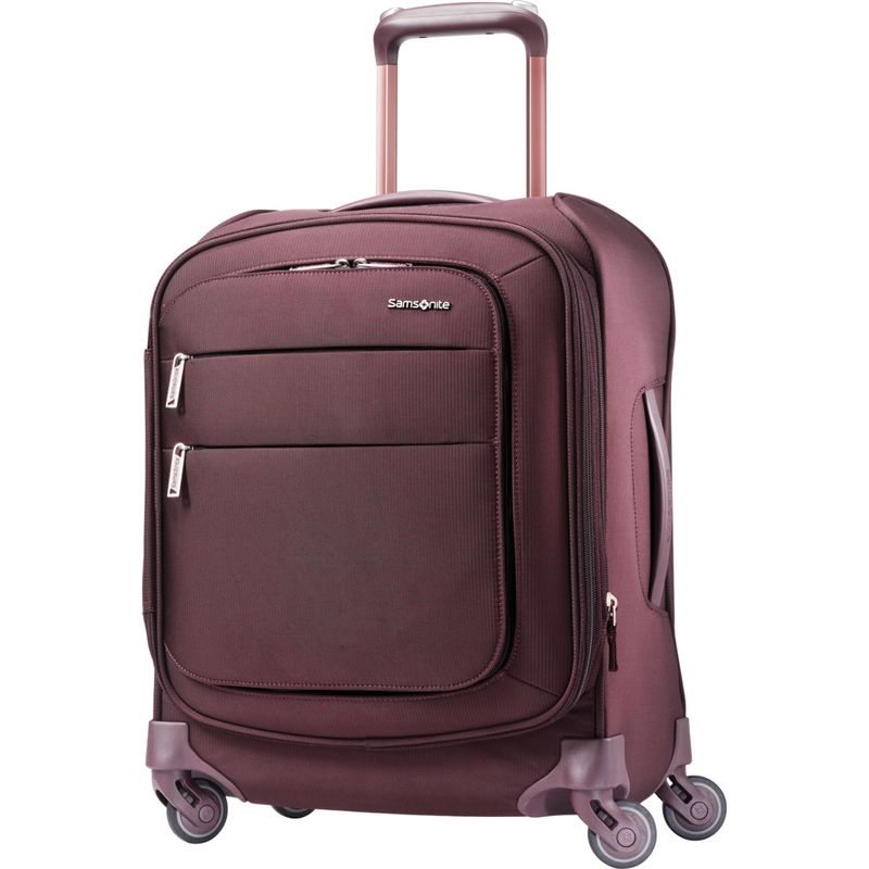 サムソナイト メンズ スーツケース バッグ Flexis 19 Expandable Spinner Carry-On w/USB Port Cordovan