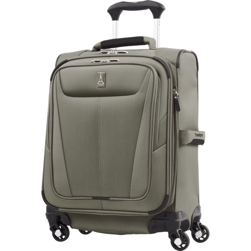 トラベルプロ メンズ スーツケース バッグ Maxlite 5 19 Expandable International Carry-On Spinner Slate Green
