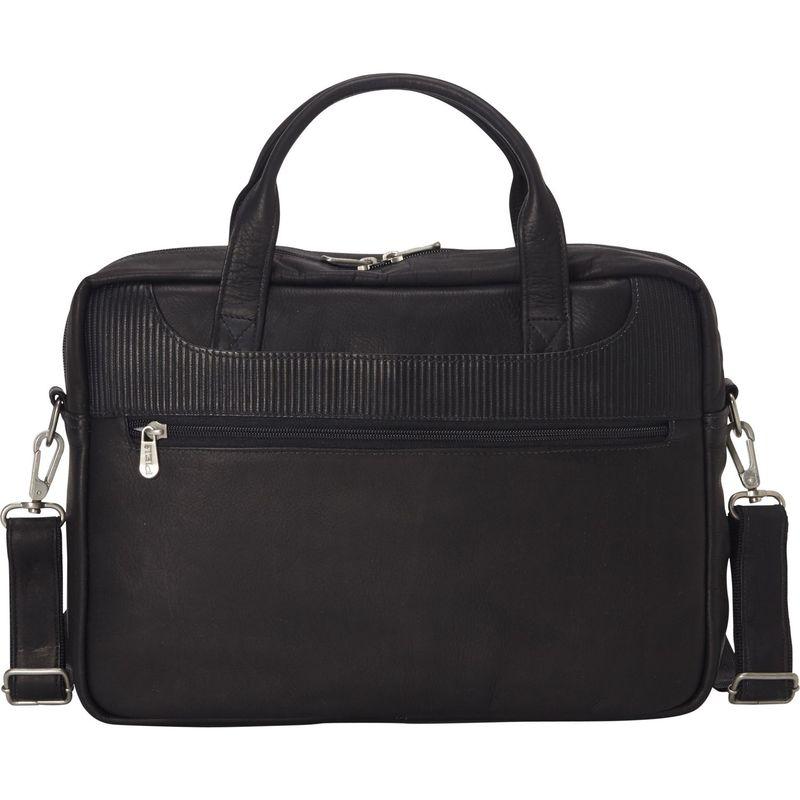ピエール メンズ スーツケース バッグ Impresso Slim Laptop Portfolio Black
