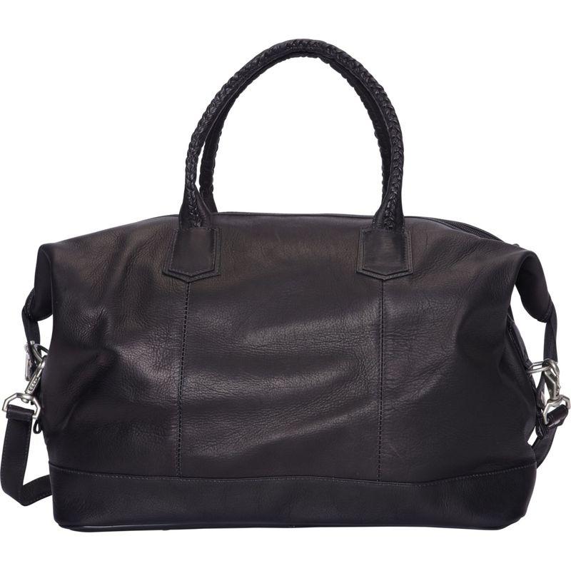 ピエール メンズ スーツケース バッグ Braided Carry-On Black