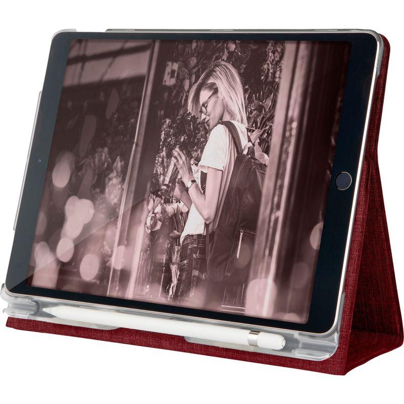 STMグッズ メンズ PC・モバイルギア アクセサリー Atlas Case for iPad 5th Gen 9.7, iPad 6th Gen 9.7, iPad Pro 9.7, iPad Air 1, iPad Air 2 Deep Red