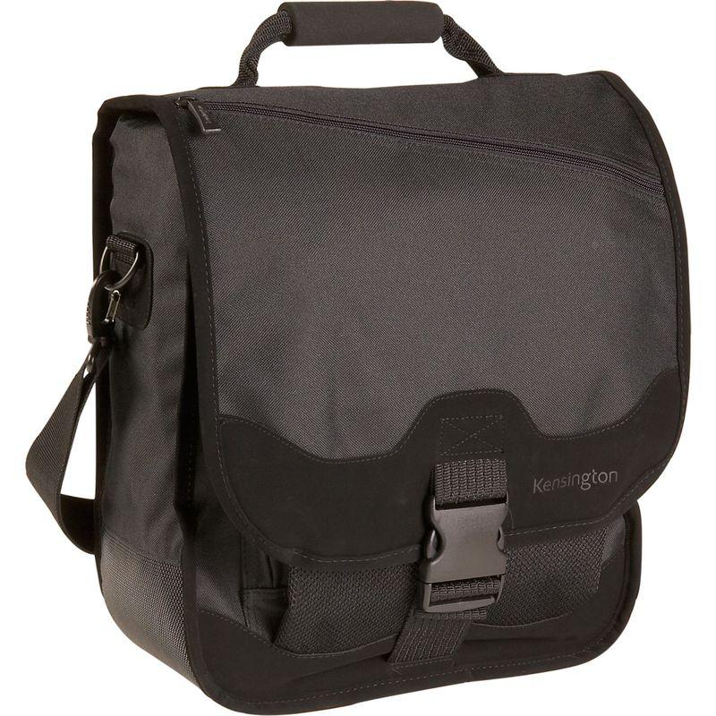 ケンジントン メンズ スーツケース バッグ Saddlebag Notebook Carrying Case - Black Black