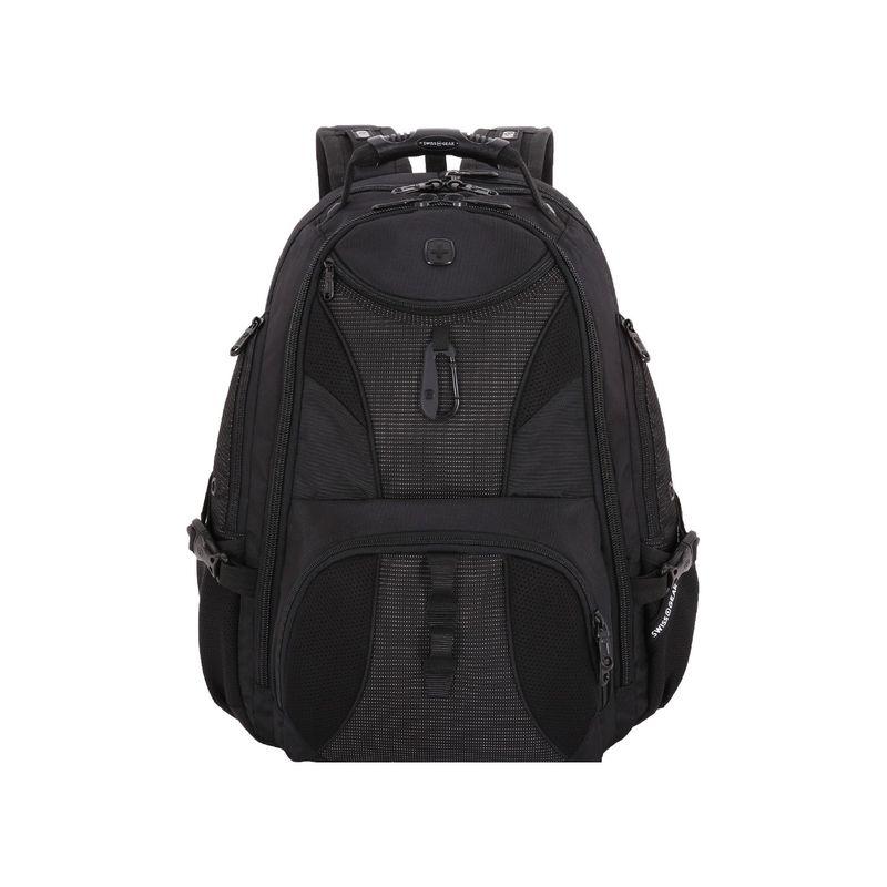 スイスギアトラベルギア メンズ スーツケース バッグ 1900 Scansmart TSA Laptop Backpack - 19 eBags Exclusive Black/White Dots