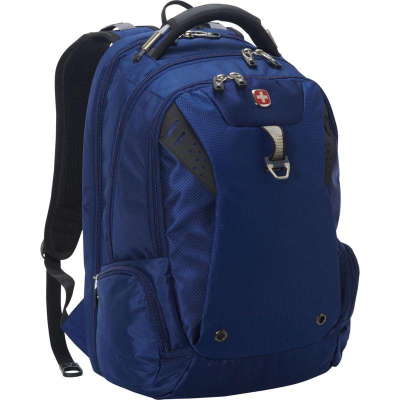 スイスギアトラベルギア メンズ バックパック・リュックサック バッグ Scansmart Backpack 5902 - EXCLUSIVE Navy/Grey